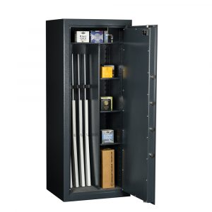 Coffre-fort ignifuge pour 5 armes – classe de sécurité S2 - Mustang Safes