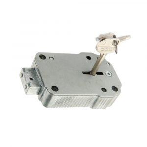 Serrure à clé à double panneton MS-S-001 - Mustang Safes