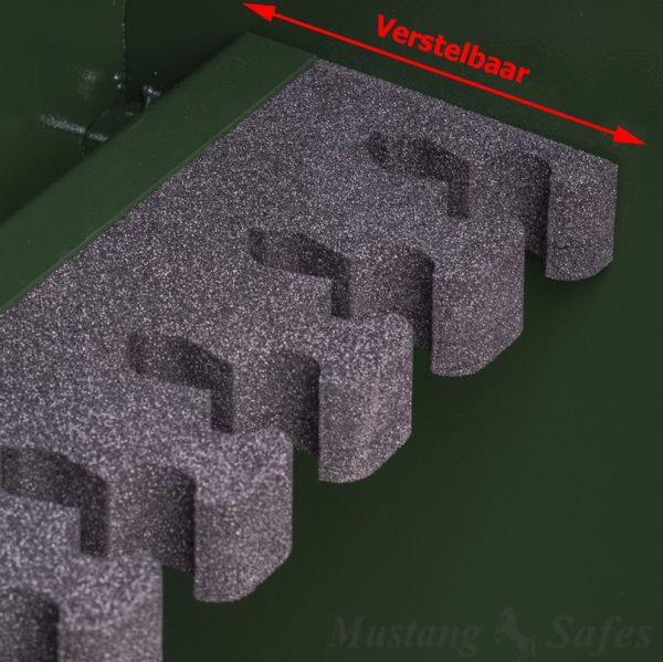 Coffre-fort pour armes modulable de 4 à 8 armes MSG 4-11 S1