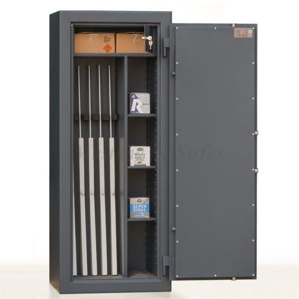 Coffre-fort pour 5 armes - classe de sécurité S2 - (réf.MSG 20-5 S2)