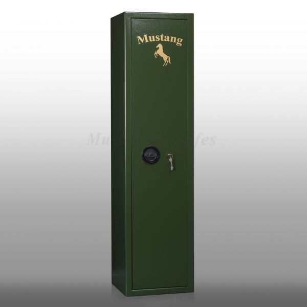 Armoire forte pour 6 armes Mustang Safes MSG 1-08 S1