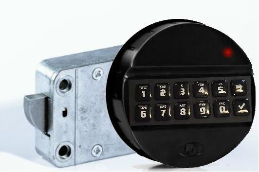 MS-EM2020 Serrure électronique (deux codes utilisateurs)
