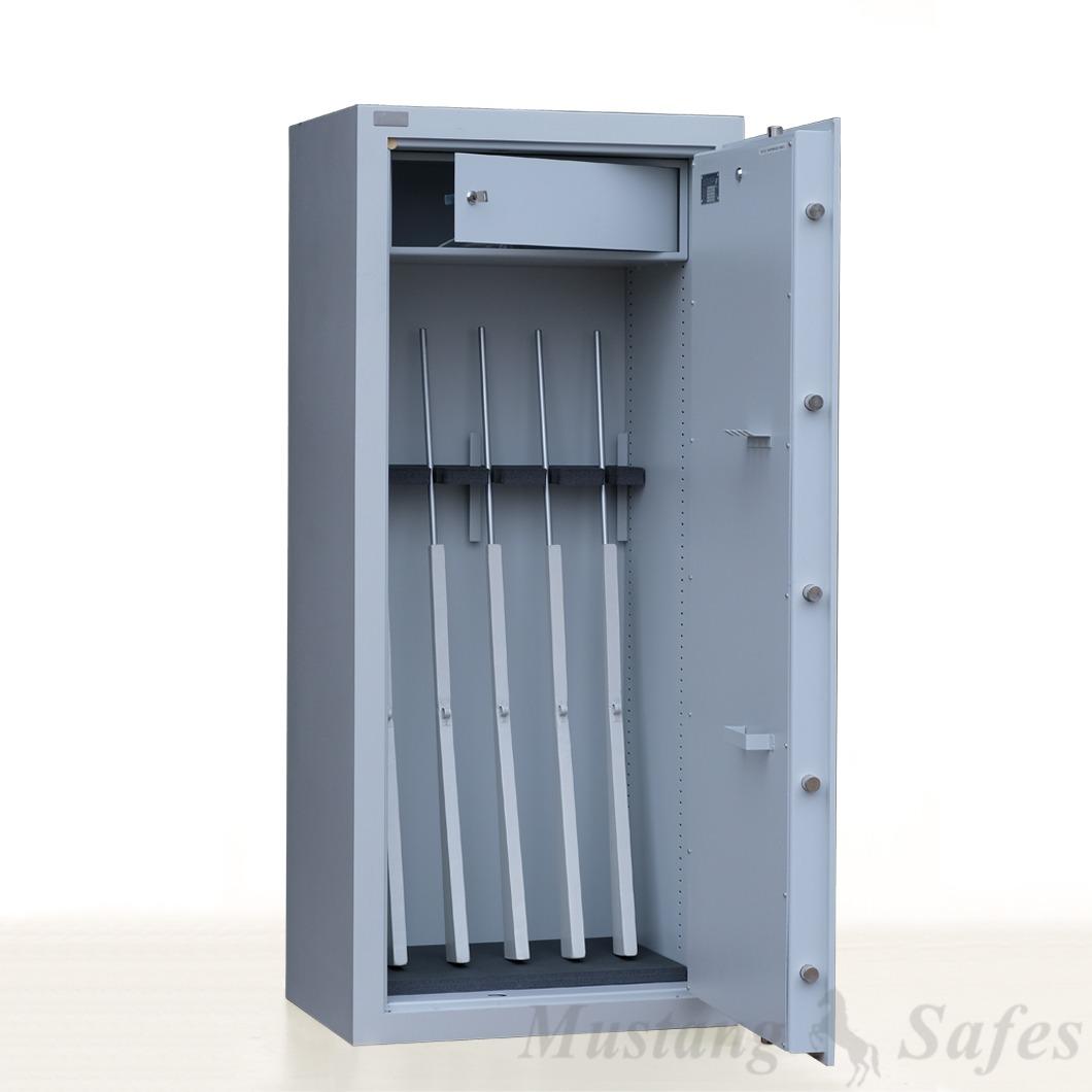 Coffre-fort pour 5 armes Sistec SWS1- niveau de sécurité classe 0 - Démo 630