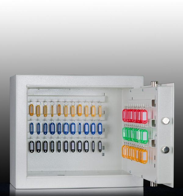 Coffre pour clés agréé S2 concessionnaires automobiles (Réf. MSK 45-8 S2)