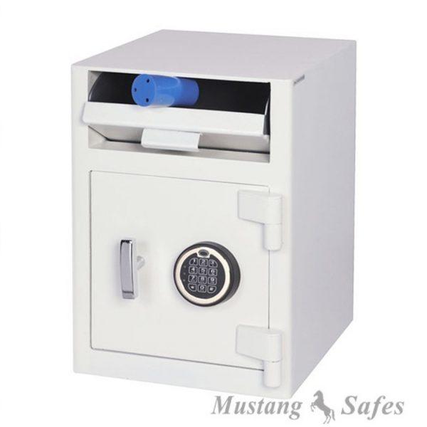 Coffre pour dépôts à trappe serrure électronique MS SS0996E