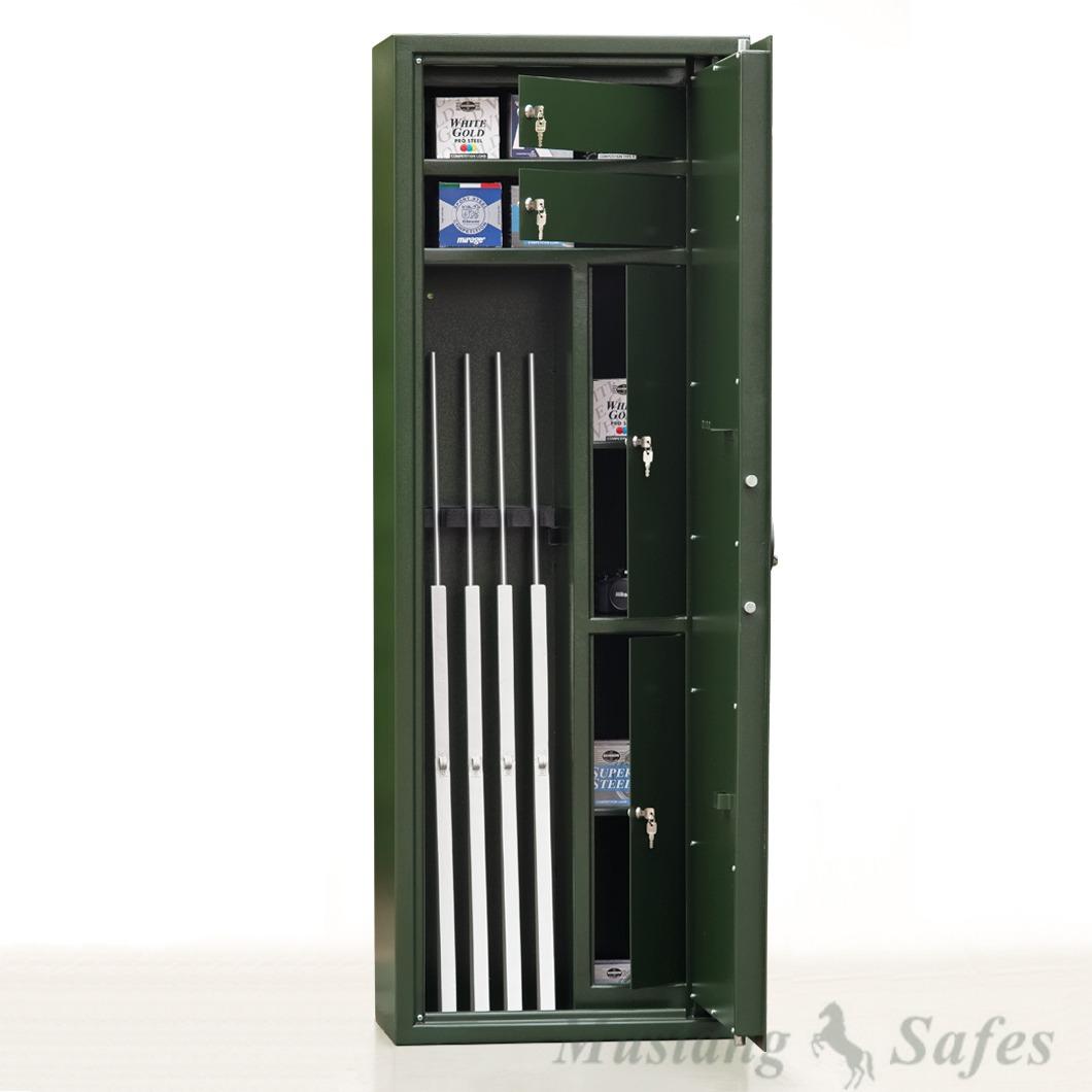 Coffre-fort 5 armes longues et armes de poing (réf. MSG 6-16 S1)