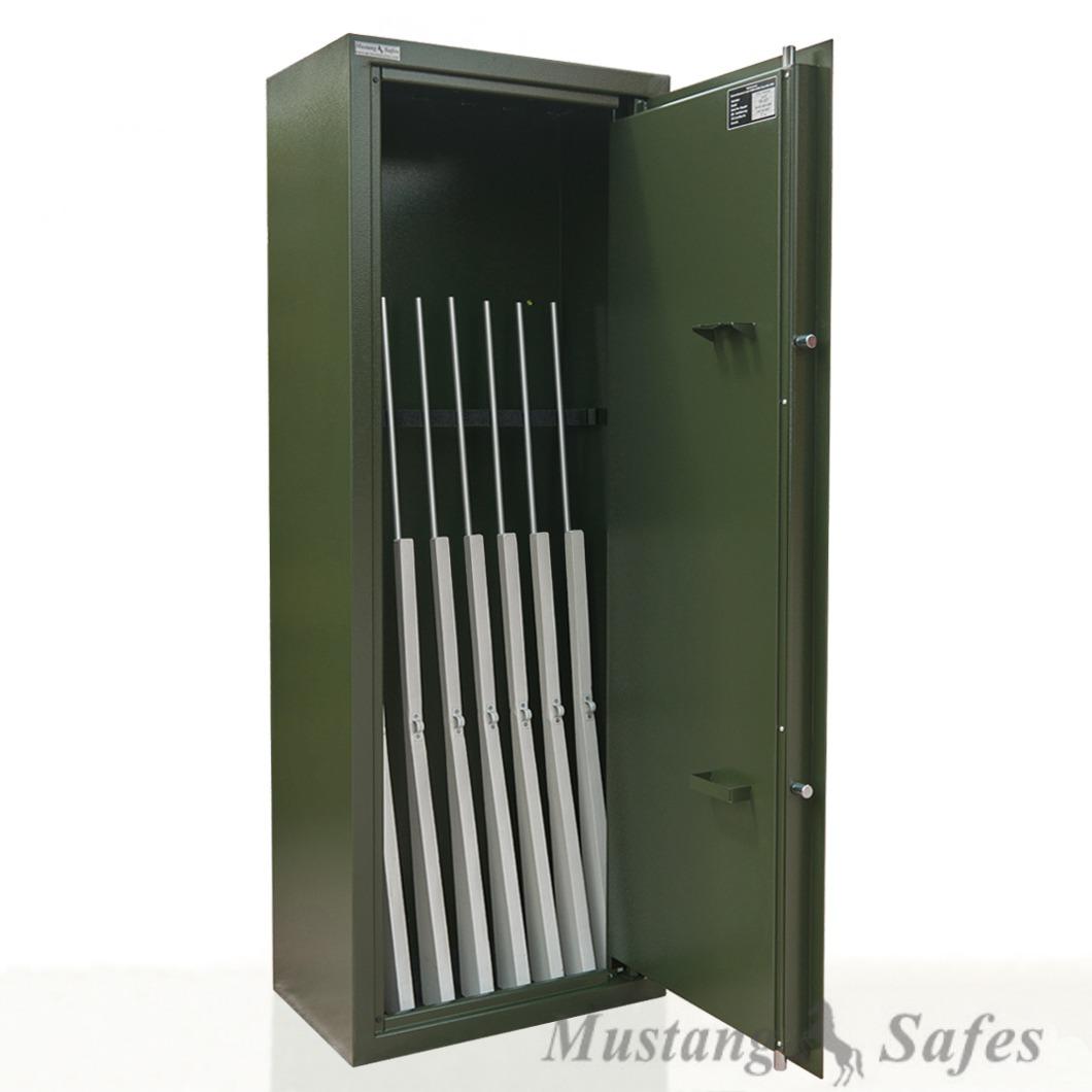 Coffre Mustang Safe pour 8 armes de 148 cm - MSG 3-19 S1