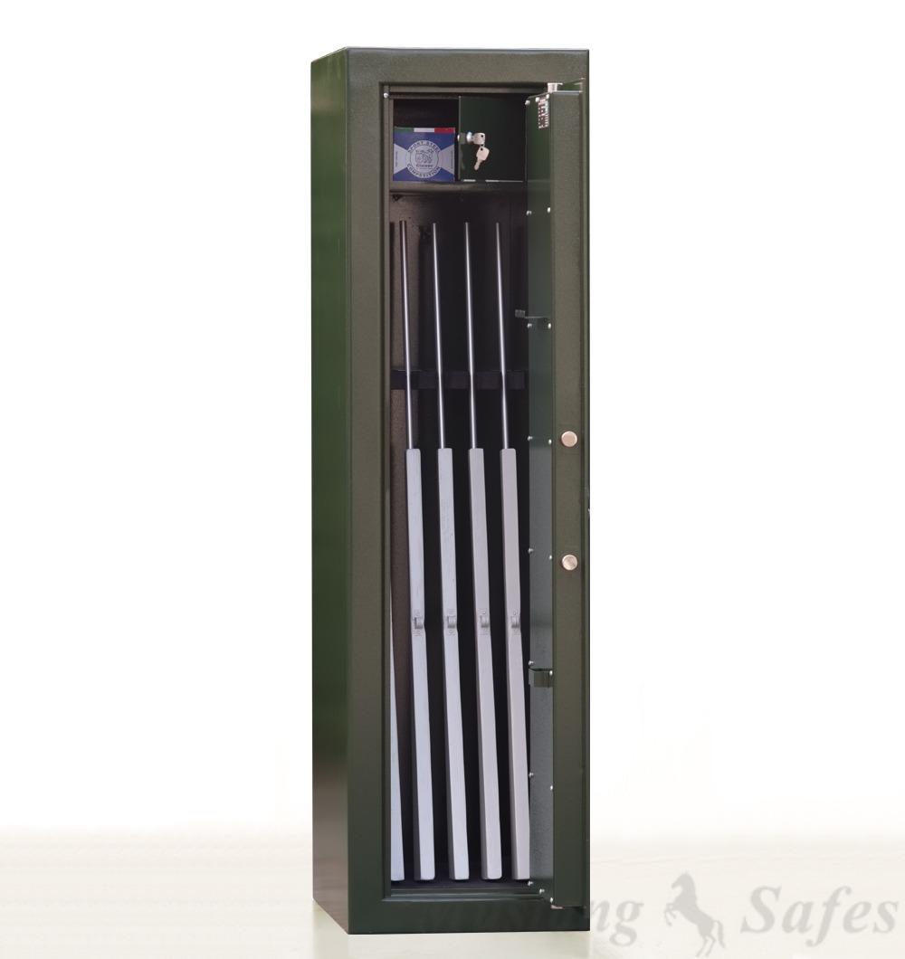 Coffre-fort Mustang Safes 5 armes anti-feu - Démo 460