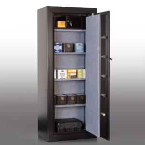 Coffre ignifuge pour armes de poing et munitions serrure électronique – MSC M-8 - Mustang Safes