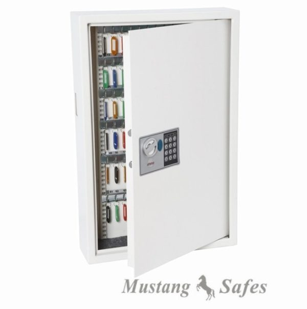 Armoire porte clés KS0033E - 144 crochets - Mustang Safes