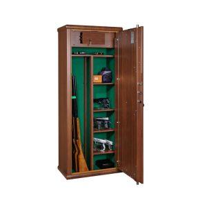 Armoire à fusils finition bois – MS Araldo 1706540 - Mustang Safes