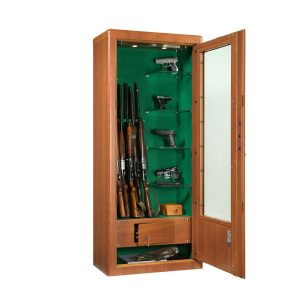 Armoire vitrée pour armes MS Regina - Mustang Safes