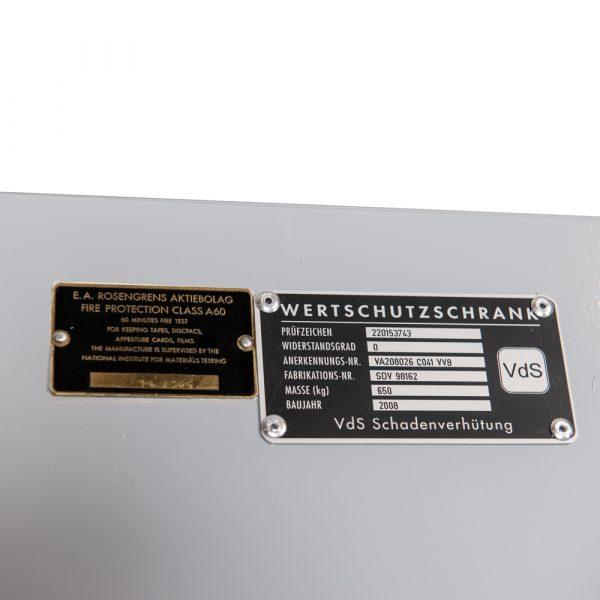 Coffre-fort classe 0 pour armes Rosengrens – Occ 1521 - Mustang Safes