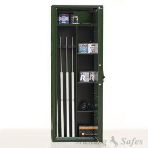 Coffre-fort pour armes et étagères – Modulable de 4 à 8 armes - Mustang Safes